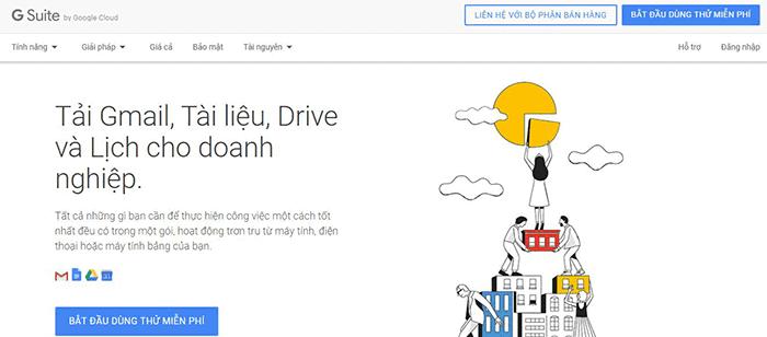 Hướng dẫn từng bước tạo email Google theo tên miền cho doanh nghiệp