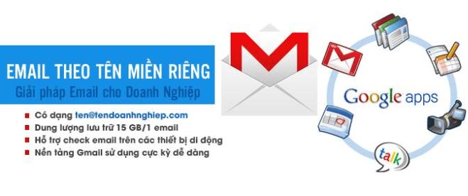 Vài nét về email theo tên miền riêng