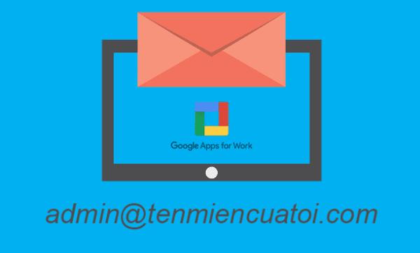 Cách tạo email theo tên miền riêng trên Google