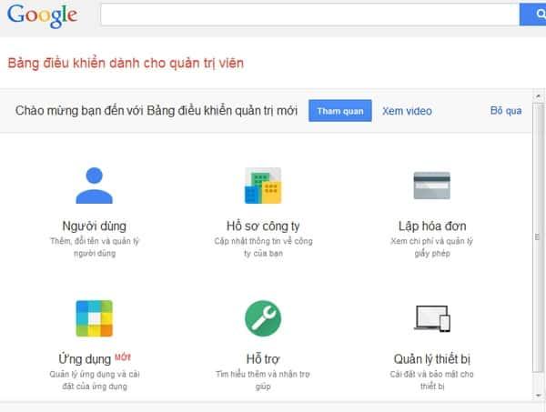 Hướng dẫn đổi Logo mặc định trong hòm thư Email Google Apps